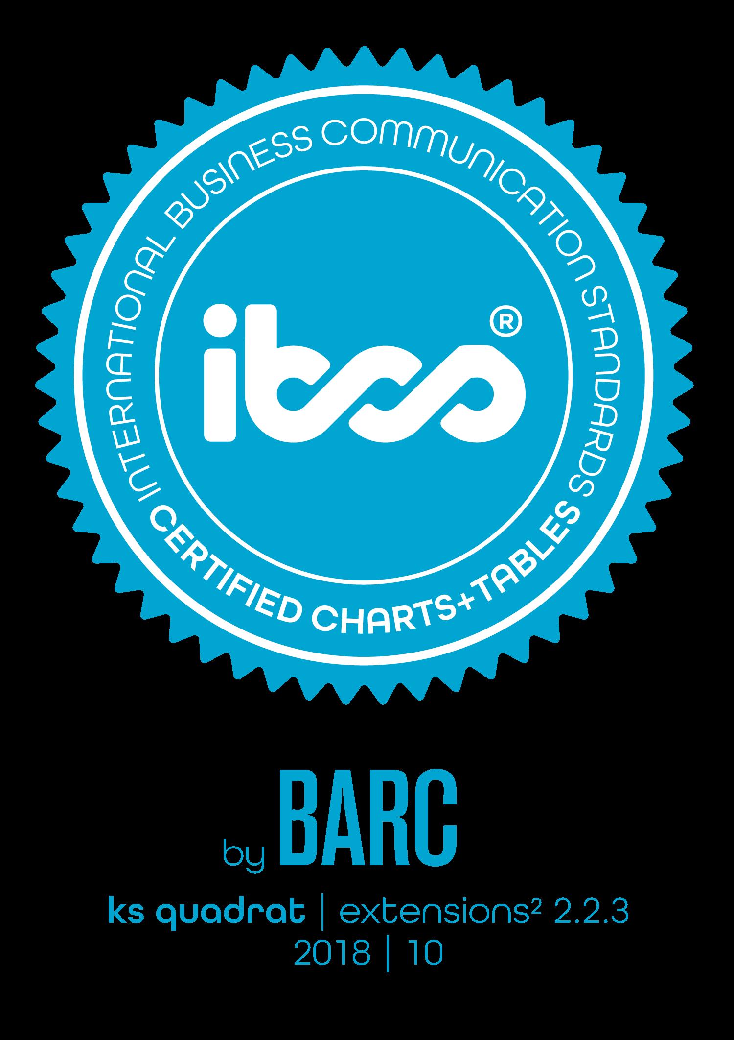 extensions² • IBCS - International Business Communication